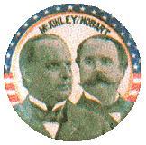 campanha presidencial americana de 1986 - William McKinley X Hobart