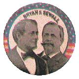 campanha presidencial americana de 1986 - William Jennings Bryan X Sewall