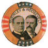 campanha presidencial americana de 1986 - McKinley X Roosevelt
