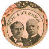campanha presidencial americana de 1900 - Bryan X Stevenson