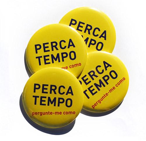 button da série Perca Tempo