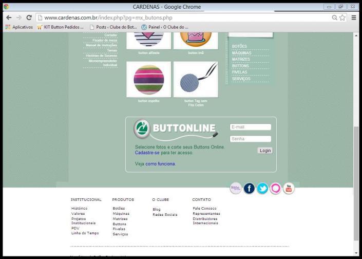 Manual do Button Line